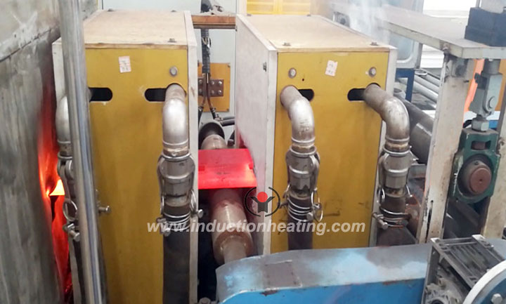Plate-induction-hardening-line