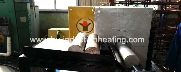 Aluminum bar induction heating equipment