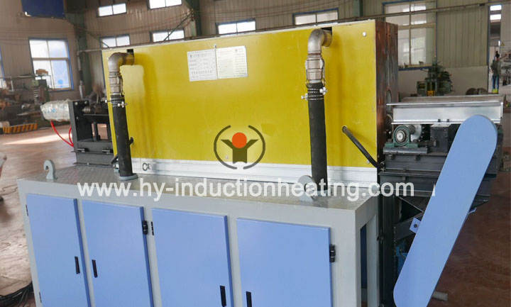 Aluminum billet heating furnace for extrusion