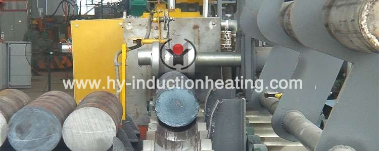 Bar induction heating line