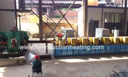 Billet preheating furnace for rolling
