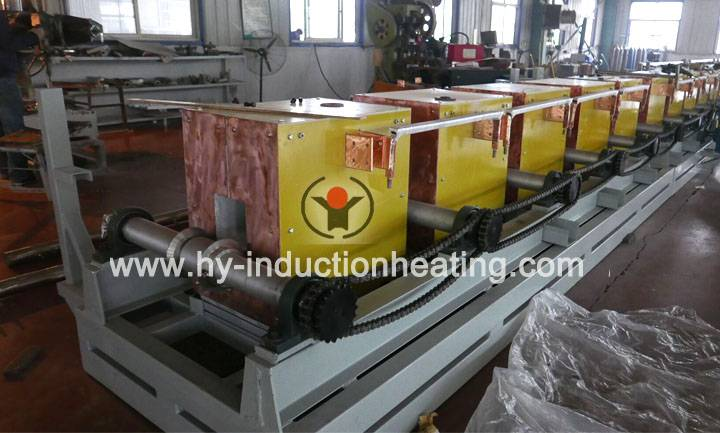 Continuous billet heating furnace
