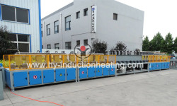 Continuous hardening and tempering furnace