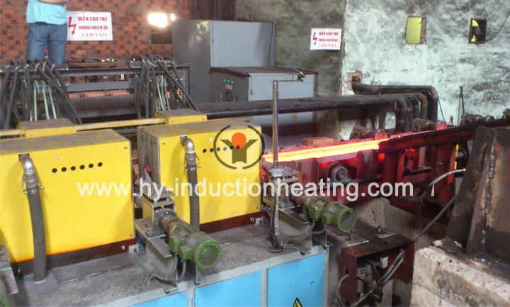 Hot rolling billet heating furnace