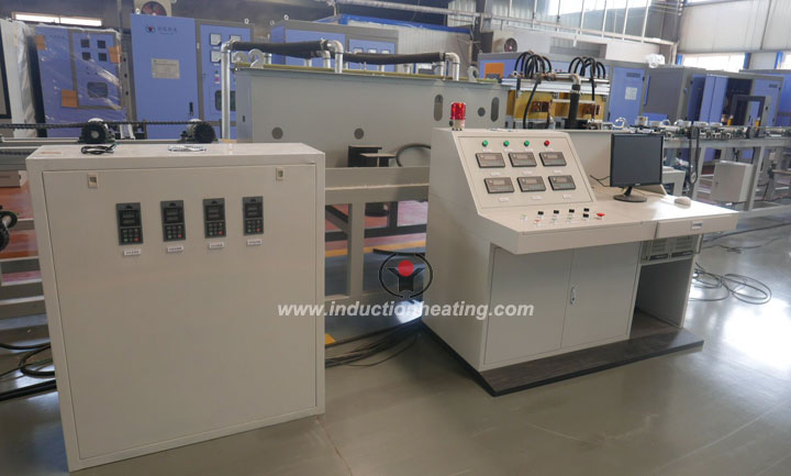 Induction hardening tempering