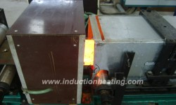 Plate induction hardening line