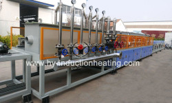 Quenching and tempering furnace for bar
