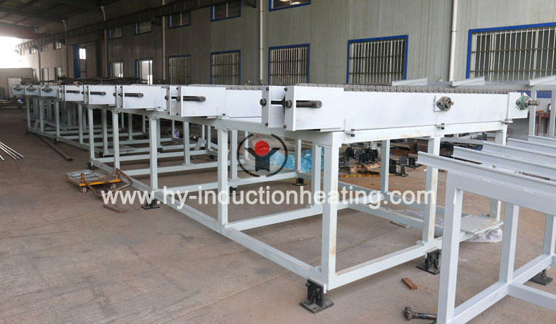 Rebar heat treatment equipment