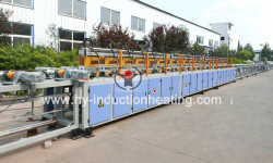Grinding rod heat treatment furnace