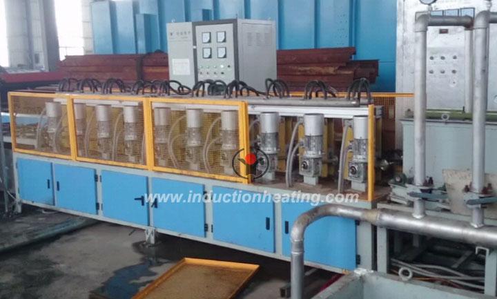 Steel bar hardening furnace