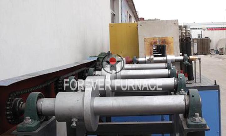 Steel billet induction heating equipment