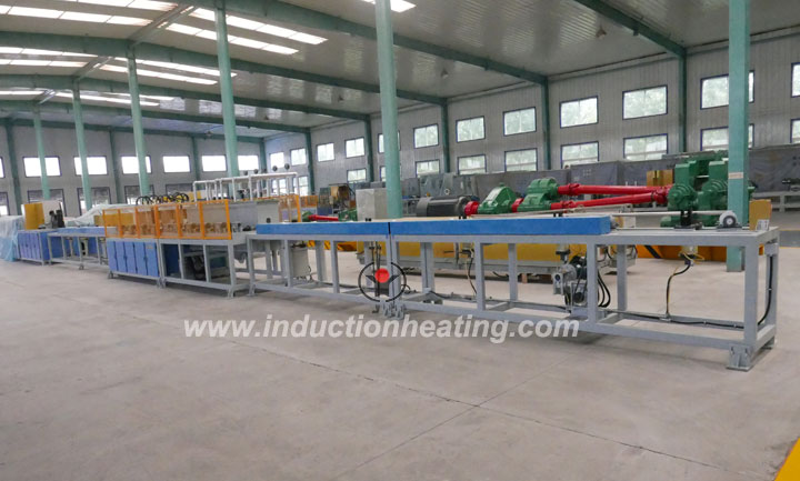 Tubing-heat-treatment-line