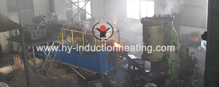 bar heating equipment for forging