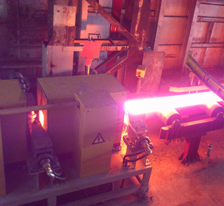 steel bar induction hardening and tempering furnace