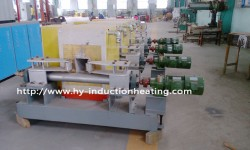 Medium frequency billet heating furnace