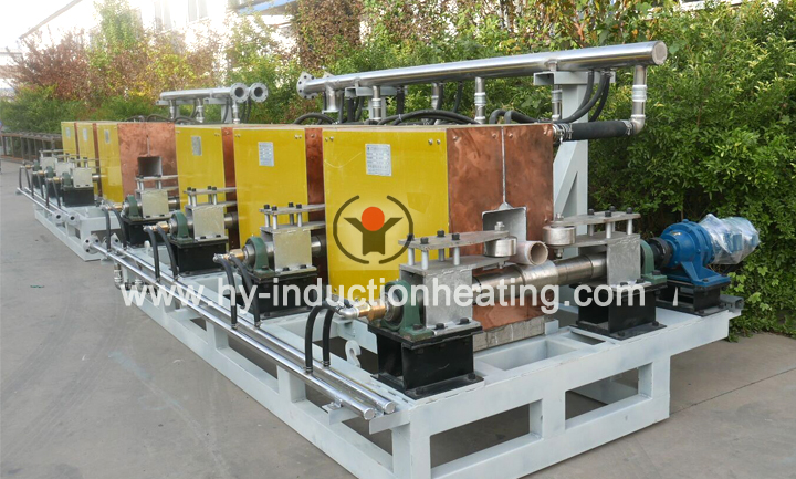 Induction billet heater for rebar rolling