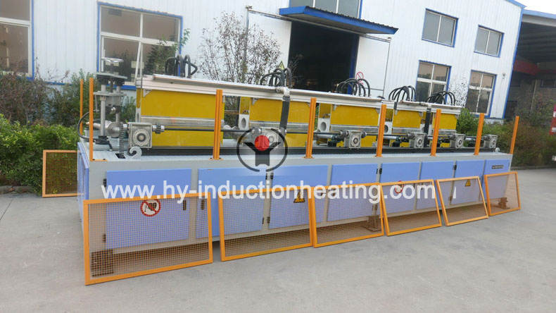 grinding rod heat treatment equipment