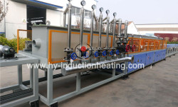 Heat treatment furnace for drill collar