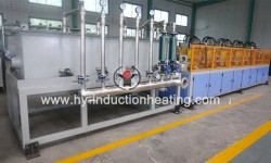 Induction quenching furnace for pipe