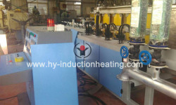Round bar heat treatment furnace