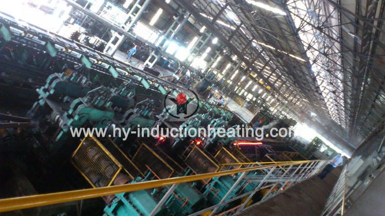 square billet induction heating furnace